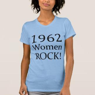 1962 Frauen-Felsen T-Shirt