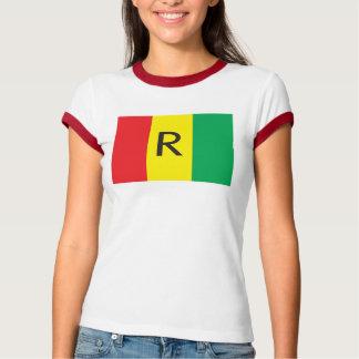 (1962) T - Shirt Ruandas Flag