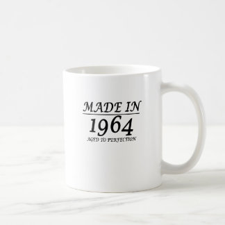 1964 gealtert zum Perfektionst-shirt für 50. Kaffeetasse