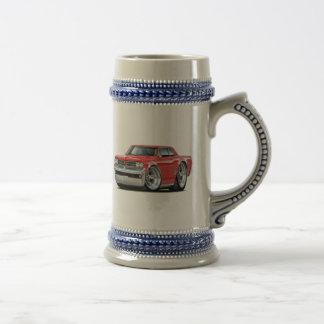1964 GTO Rot-Auto Bierglas