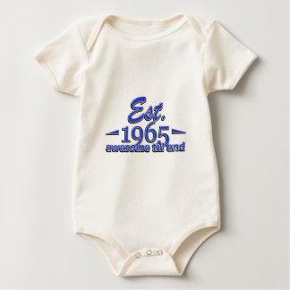 1965 Geburtstagsentwürfe Baby Strampler