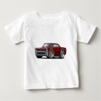 1965 GTO kastanienbraunes Auto Baby T-shirt