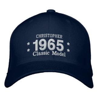 1965 oder irgendein Geburtstag A4Q des Jahr-50. Bestickte Kappe