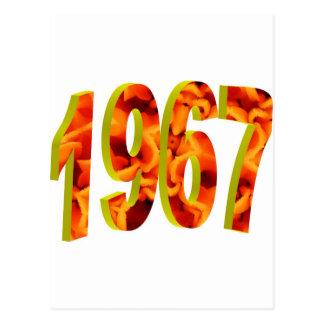 1967 POSTKARTE
