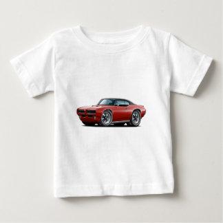 1968-69 GTO Kastanienbraun-Schwarzes Spitzenauto Baby T-shirt