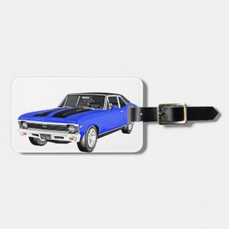 1968 Blau-Muskel-Auto Kofferanhänger