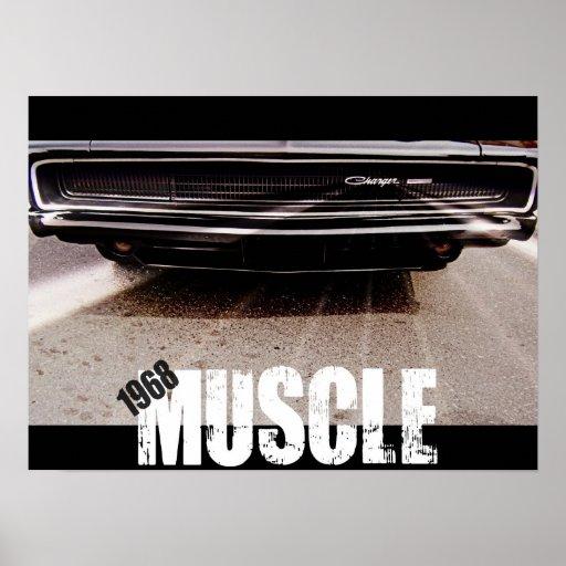 1968 Muskel-Druck Plakatdrucke