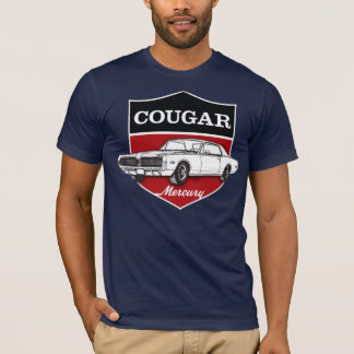 (1968) Wappenillustration Mercury Cougar T-Shirt