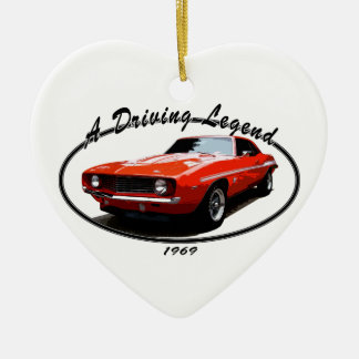 1969_camaro_yenko_orange keramik Herz-Ornament