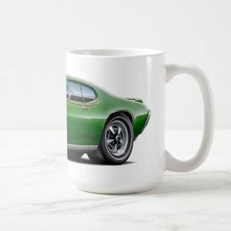 1969 GTO Richter-Grün-Auto Kaffeetasse