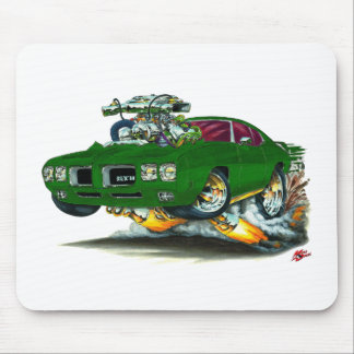 1970 GTO grünes Auto Mousepad