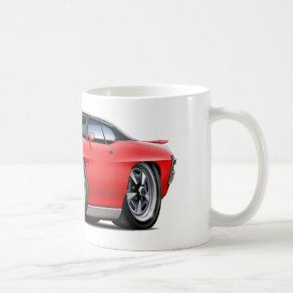 1970 GTO Rot-Schwarze Spitze Kaffeetasse