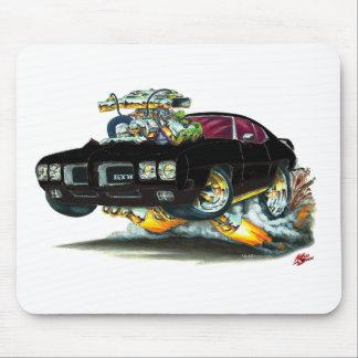 1970 GTO schwarzes Auto Mousepad