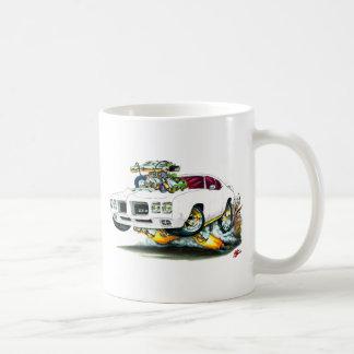 1970 GTO Weiß-Auto Kaffeetasse