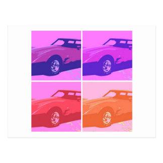 1979 klassische Autos Postkarte