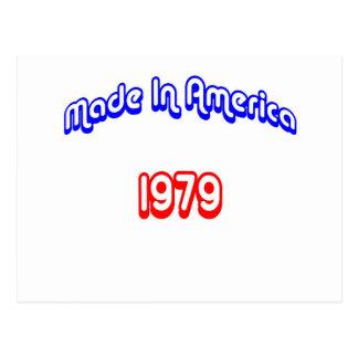 1979 machte in Amerika Postkarte