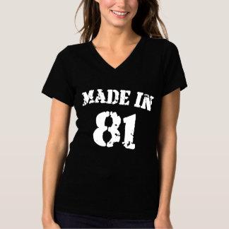 1981 machte in 81 T-Shirt