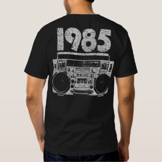 1985 Vintager Boombox Entwurf Tshirts