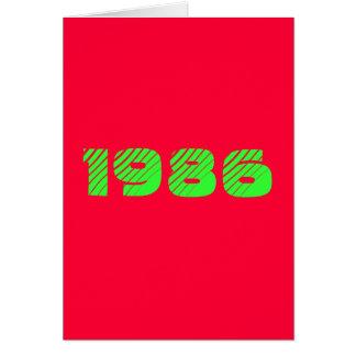 1986 KARTE