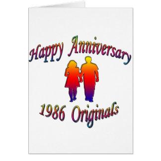 1986 Paare Karte
