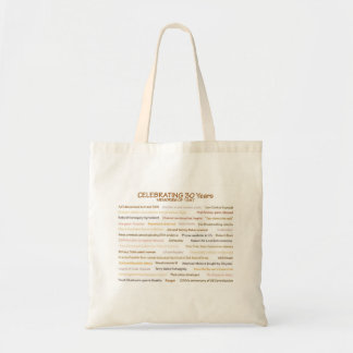 1987 Erinnerungens-30. Geburtstags-Tasche Tragetasche