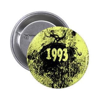 1993 retro Vintages - Knöpfe Runder Button 5,1 Cm