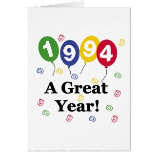 1994 ein großes Jahr-Geburtstag Karte