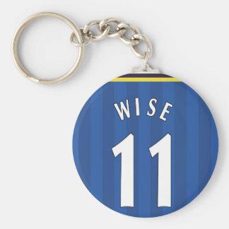 1997-99 Chelsea-Zuhause-Schlüsselring - KLUGE 11 Schlüsselanhänger