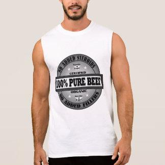 199% reines Rindfleisch keine Steroide Ärmelloses Shirt