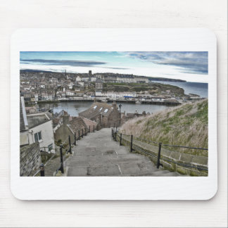 199 Schritte Whitby Mousepad