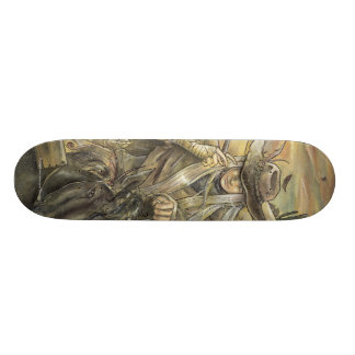 19,1 CM OLD SCHOOL SKATEBOARD DECK
