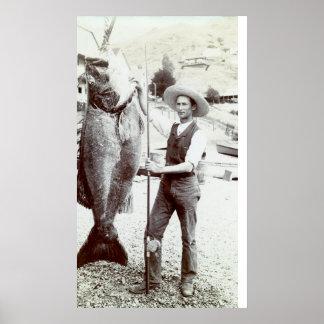 19. C. Fischer und Goliath-Barsch Poster
