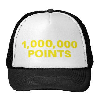 1.000.000 PUNKTE lustiger Sloganfernlastfahrer-Hut Trucker Caps
