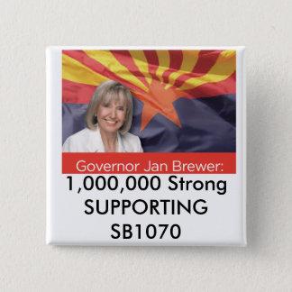 1.000.000 starke STÜTZENSB1070 Quadratischer Button 5,1 Cm