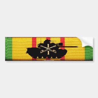 1/1st Kavallerie M48A3 auf VSM Band Autoaufkleber