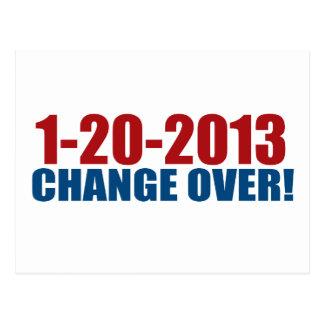 1-20-2013 Änderung vorbei Postkarte