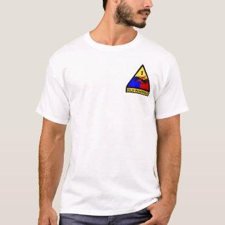 1. ANZEIGE alter Ironsides-Flecken T-Shirt