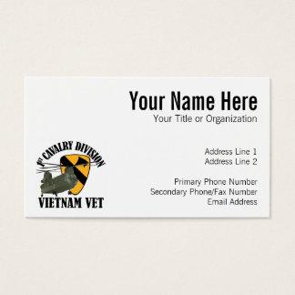 1. Cav Vietnam Tierarzt - CH-47 Visitenkarte