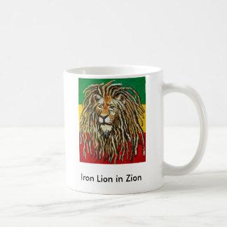 1, Eisen-Löwe in Zion Kaffeetasse