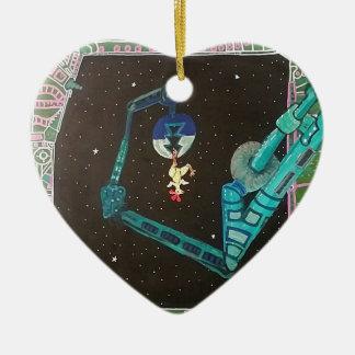 1. Fang des Tages (durch Dingo Dizmal) Keramik Ornament
