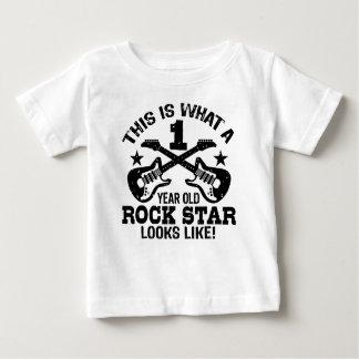 1. Geburtstag Baby T-shirt