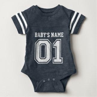 1. Geburtstag (der Name des kundengerechten Babys) Baby Strampler