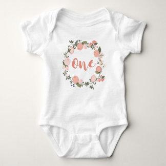 1. Geburtstag für Baby Baby Strampler