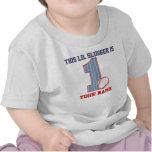 1. Geburtstags-Baseball-personalisierter T - Shirt
