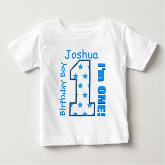 1. Geburtstags-Junge hat einen Jahr-individuellen T Shirt