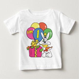 1. Geburtstags-Kaninchen Baby T-shirt