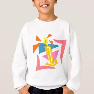 1. Geburtstags-Kerze Sweatshirt
