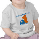 1. Geburtstags-Monster-personalisiertes T-Shirt