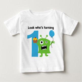 1. Geburtstags-T-Shirt niedliches Monster Baby T-shirt