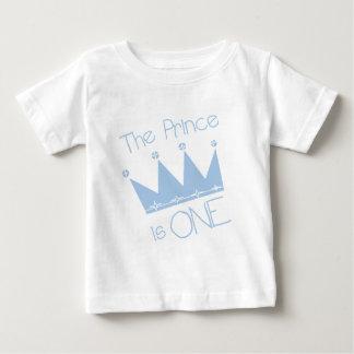 1. Geburtstagst-shirts und -geschenke Prinz-Crown Baby T-shirt